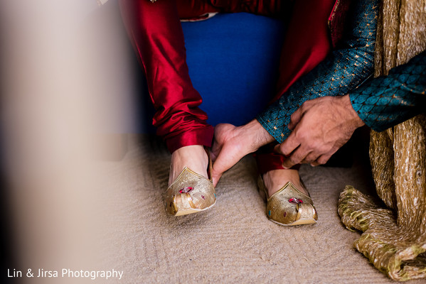Shoes in Los Angeles, CA Indian Wedding by Lin & Jirsa Photography