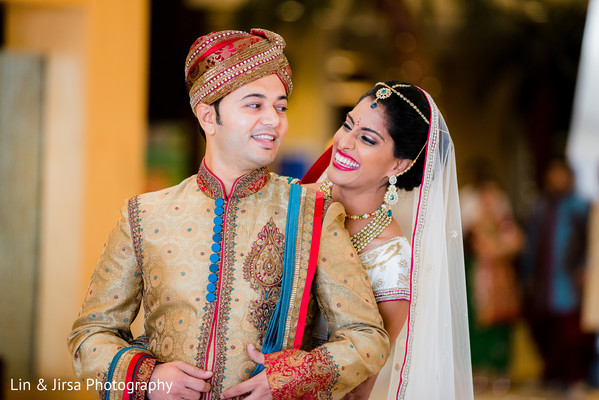 Portraits in Los Angeles, CA Indian Wedding by Lin & Jirsa Photography