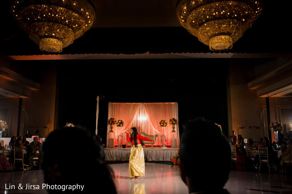 Reception in Los Angeles, CA Indian Wedding by Lin & Jirsa Photography