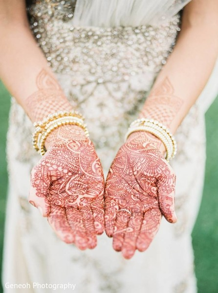 Mehndi in Edgerton, WI Indian Fusion Wedding by Geneoh Photography