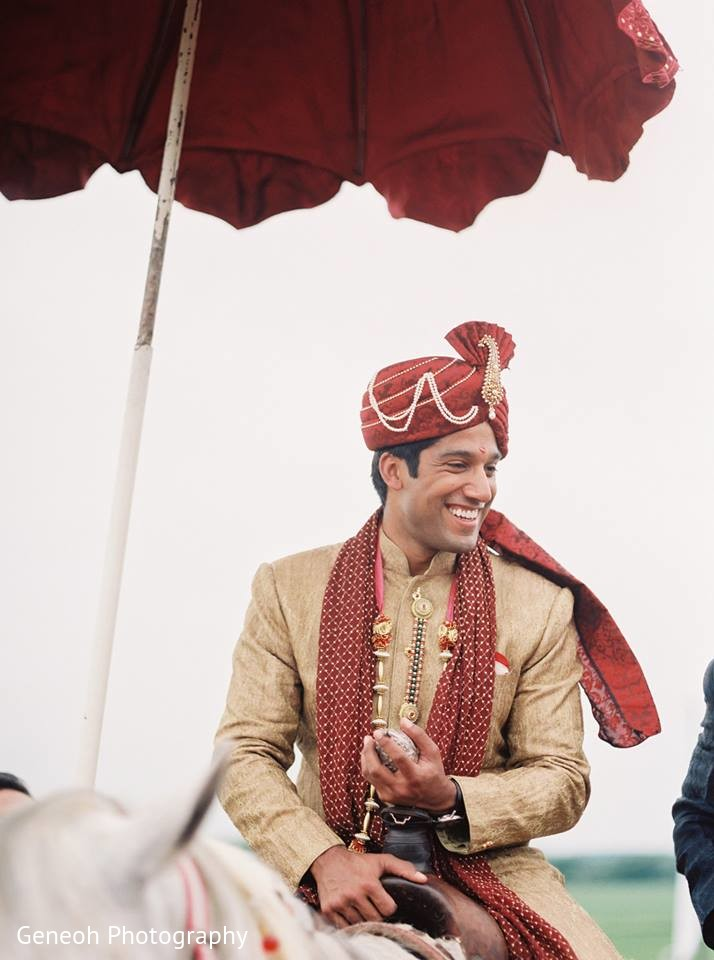 Baraat in edgerton wi indian fusion wedding by geneoh for Indian jewelry in schaumburg il