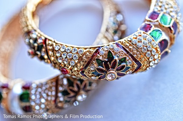 Bangles in Austin, TX Indian Wedding by Tomas Ramos Photographers