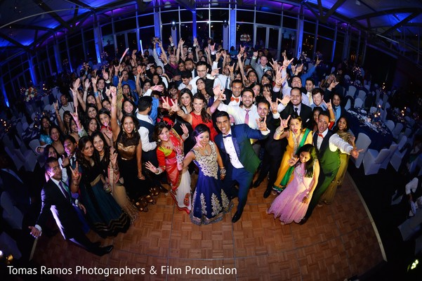 Reception in Austin, TX Indian Wedding by Tomas Ramos Photographers