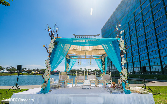 outdoor ceremony,mandap