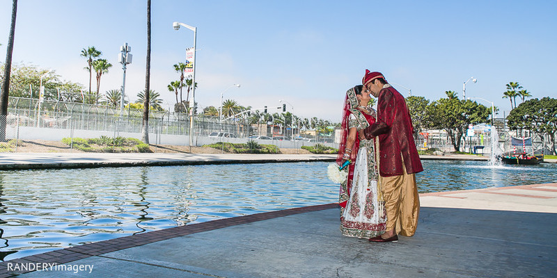 Portraits in Long Beach, CA Indian Wedding by RANDERYimagery
