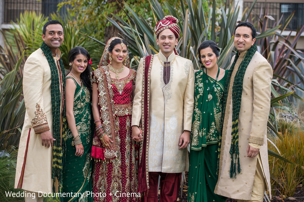 Wedding Party in Santa Clara, CA Indian Wedding by Wedding Documentary Photo + Cinema