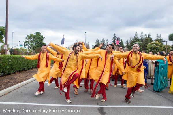 Baraat in Santa Clara, CA Indian Wedding by Wedding Documentary Photo + Cinema