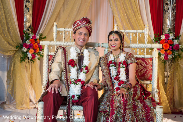 Ceremony in Santa Clara, CA Indian Wedding by Wedding Documentary Photo + Cinema