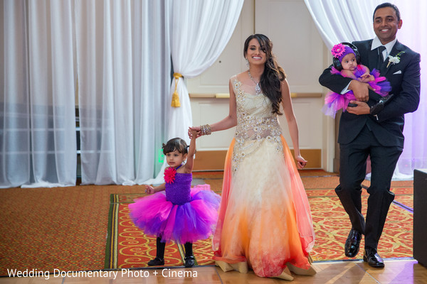 Reception in Santa Clara, CA Indian Wedding by Wedding Documentary Photo + Cinema