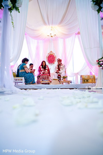 Cerermony in New Rochelle, NY Indian Wedding by MPW Media Group