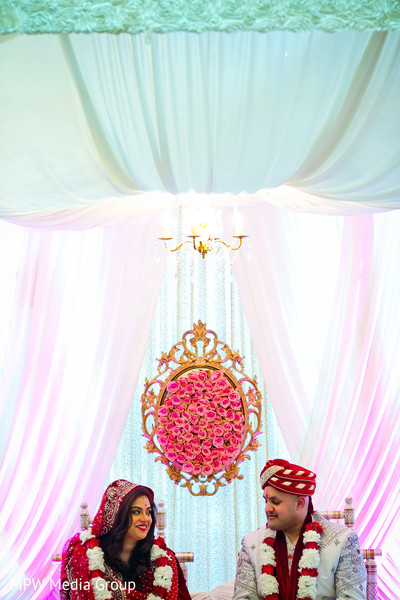 Ceremony in New Rochelle, NY Indian Wedding by MPW Media Group