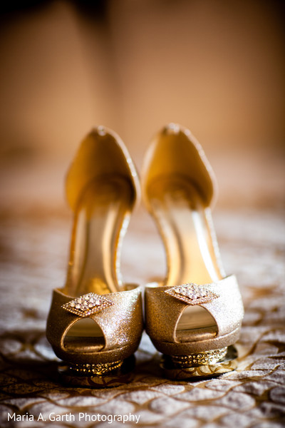 Shoes in Broomall, PA Indian Fusion Wedding by Maria A. Garth Photography