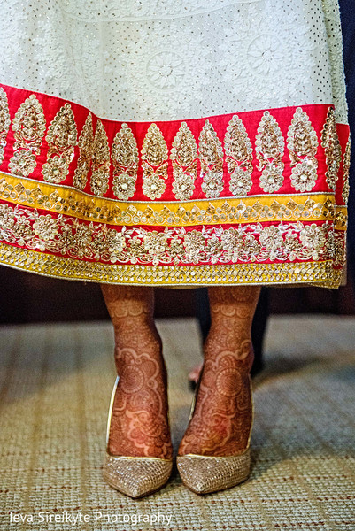 Shoes in Mahwah, NJ Indian Wedding by Ieva Sireikyte Photography