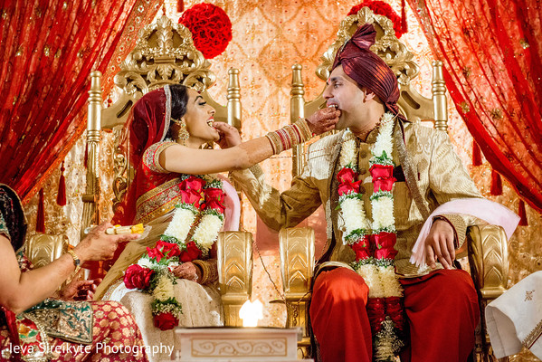 Ceremony in Mahwah, NJ Indian Wedding by Ieva Sireikyte Photography