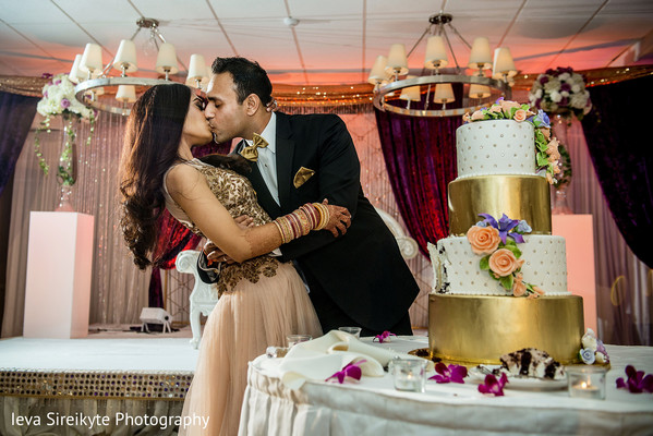 Reception in Mahwah, NJ Indian Wedding by Ieva Sireikyte Photography