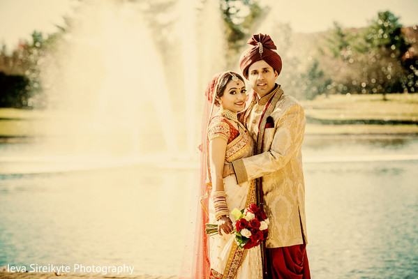 Portraits in Mahwah, NJ Indian Wedding by Ieva Sireikyte Photography