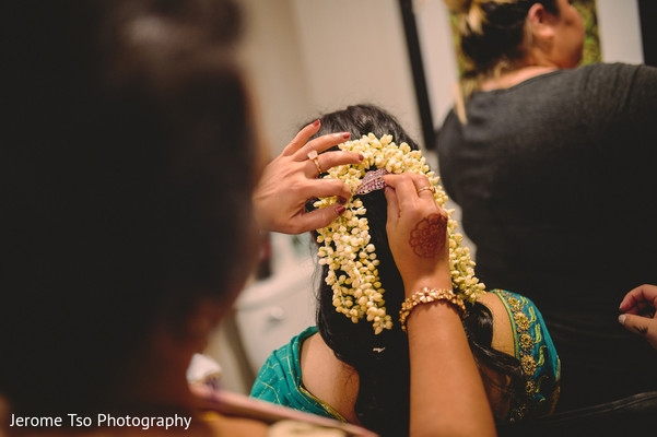 Getting Ready in Dallas, TX Indian Wedding by Jerome Tso Photography