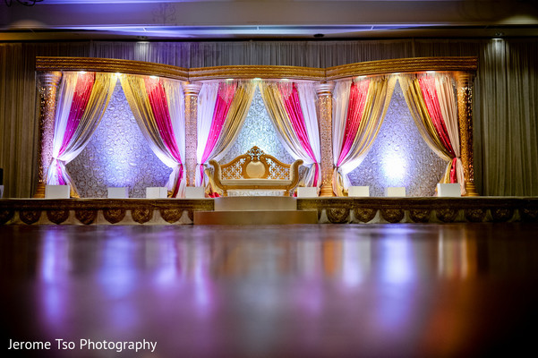 Reception in Dallas, TX Indian Wedding by Jerome Tso Photography