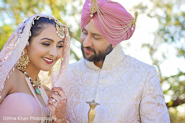Portraits in Scottsdale, AZ Sikh Wedding by Ushna Khan Photography