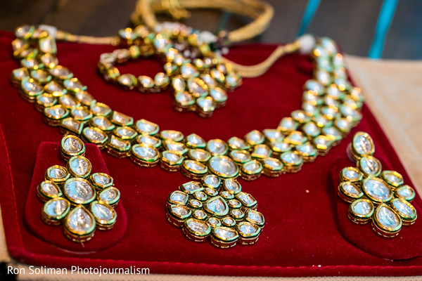 Bridal Jewelry in Atlantic City, NJ Indian Wedding by Ron Soliman Photojournalism