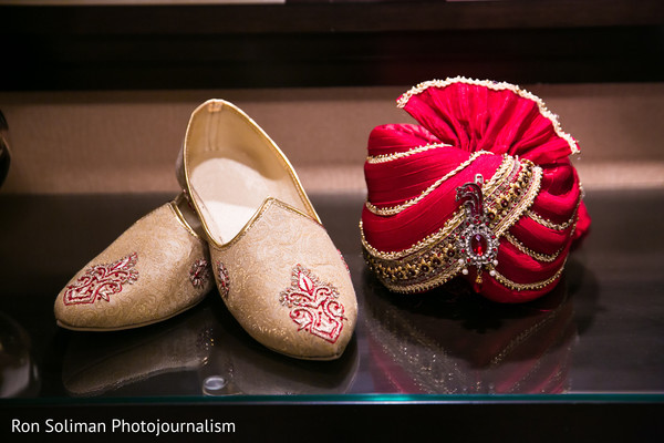Groom Fashion in Atlantic City, NJ Indian Wedding by Ron Soliman Photojournalism