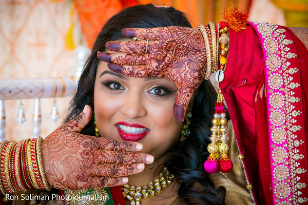 Mehndi in Atlantic City, NJ Indian Wedding by Ron Soliman Photojournalism