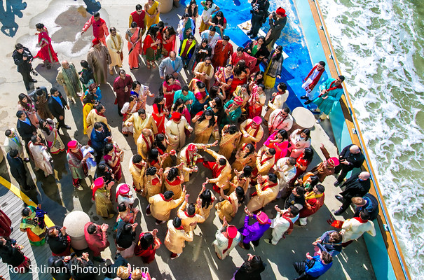 Baraat in Atlantic City, NJ Indian Wedding by Ron Soliman Photojournalism
