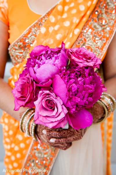 Photo in 8 Vibrant Wedding Bouquets for Summer!