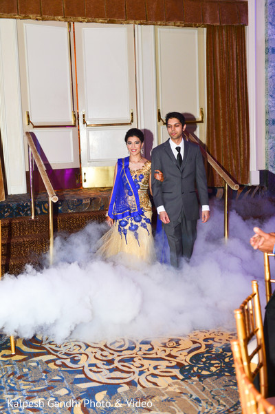 Reception in Chicago, IL South Indian Wedding by Kalpesh Gandhi Photo & Video