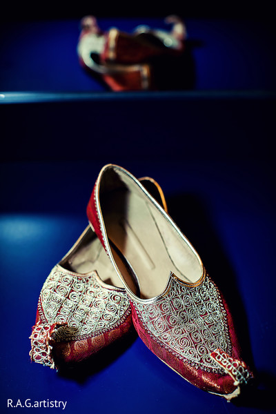 Shoes in Statesboro, GA Indian Fusion Wedding by R.A.G.artistry