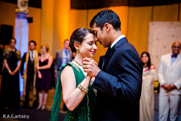Reception in Statesboro, GA Indian Fusion Wedding by R.A.G.artistry