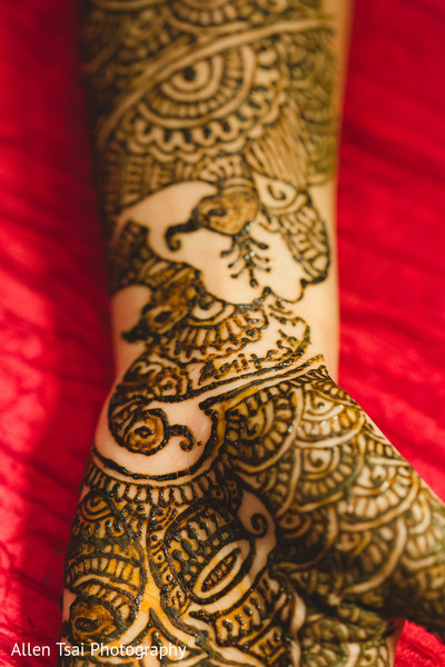 Mehndi in Miramar Beach, FL Buddhist Hindu Fusion Wedding by Allen Tsai Photography