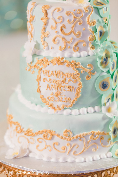 Wedding Cake in Miramar Beach, FL Buddhist Hindu Fusion Wedding by Allen Tsai Photography