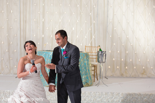 Reception in Miramar Beach, FL Buddhist Hindu Fusion Wedding by Allen Tsai Photography