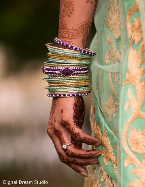 Bangles in Tampa, FL Indian Wedding by Digital Dream Studio