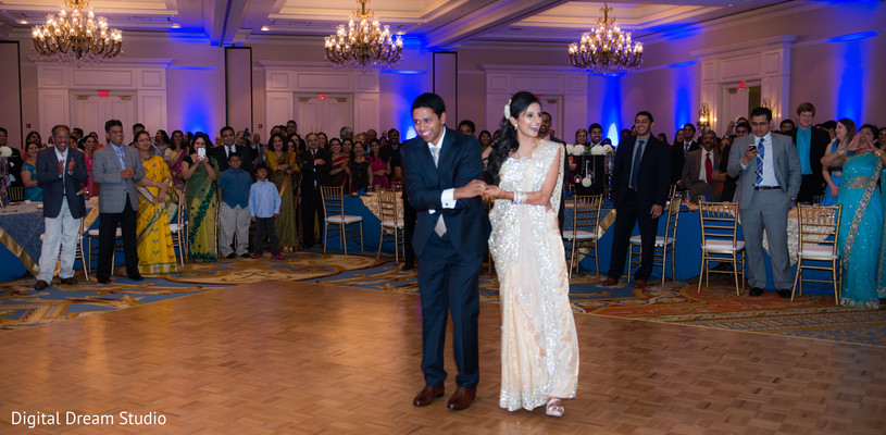 Reception in Tampa, FL Indian Wedding by Digital Dream Studio