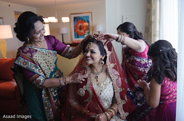 Getting Ready in Orlando, FL Indian Wedding by Asaad Images