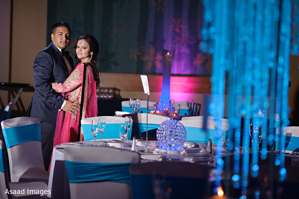Reception in Orlando, FL Indian Wedding by Asaad Images