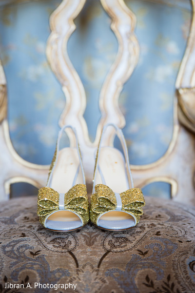 Shoes in Huntington, NY Pakistani Wedding Reception by Jibran A. Photography