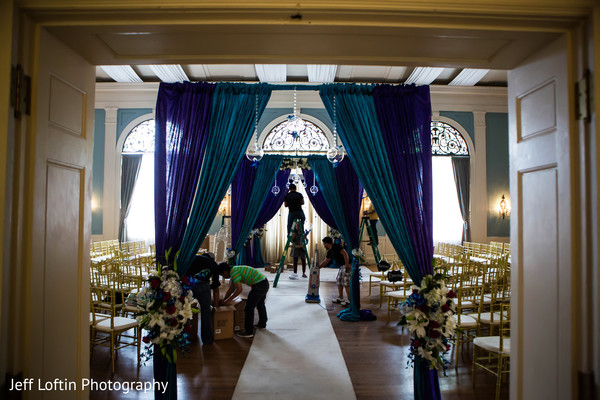 Ceremony in Austin, TX Indian Fusion Wedding by Jeff Loftin Photography