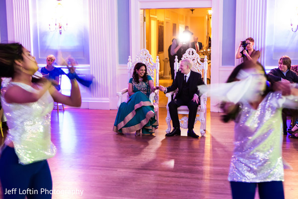 Reception in Austin, TX Indian Fusion Wedding by Jeff Loftin Photography