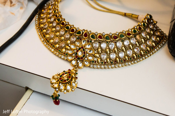Bridal Jewelry in Austin, TX Indian Fusion Wedding by Jeff Loftin Photography