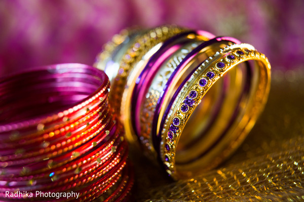 Bangles in Poughkeepsie, NY Indian Fusion Wedding by Radhika Photography