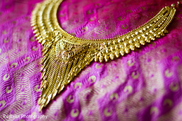Necklace in Poughkeepsie, NY Indian Fusion Wedding by Radhika Photography