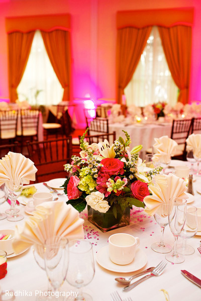 Floral & Decor in Poughkeepsie, NY Indian Fusion Wedding by Radhika Photography
