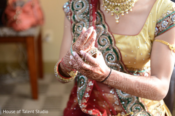 Getting Ready in Parsippany, NJ Indian Wedding by House of Talent Studio
