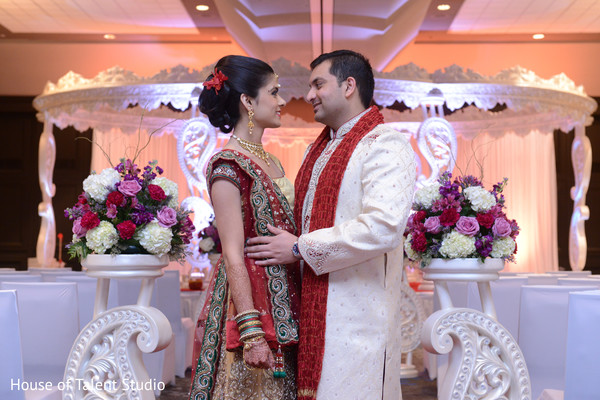 Portraits in Parsippany, NJ Indian Wedding by House of Talent Studio