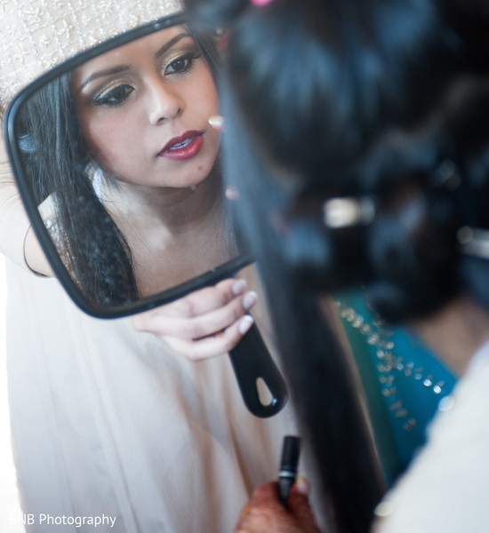 Getting Ready in Huntington, NY South Asian Fusion Wedding by BNB Photography