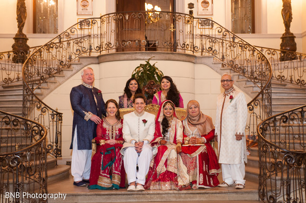 Portrait in Huntington, NY South Asian Fusion Wedding by BNB Photography