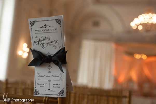 Stationery in Huntington, NY South Asian Fusion Wedding by BNB Photography